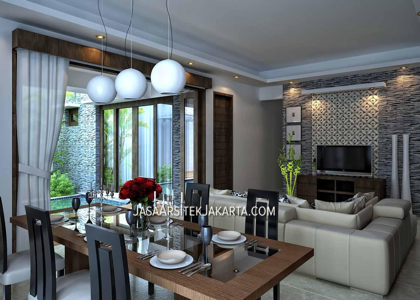 desain rumah 4 kamar luas 330 m2 bp nurdin jasa arsitek