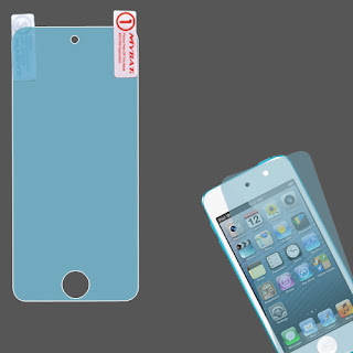 Blue LCD Screen Protector Film Guard for Apple iPod Touch 5th Generation