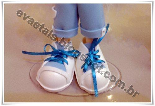 Sapato do anjinho
