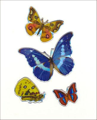 mariposas vintage butterflies