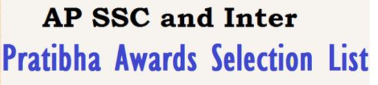 AP Pratibha Awards 2015 Selection List District and Mandal Wise