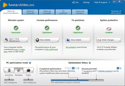Download TuneUp Utilities Terbaru 2013 2014