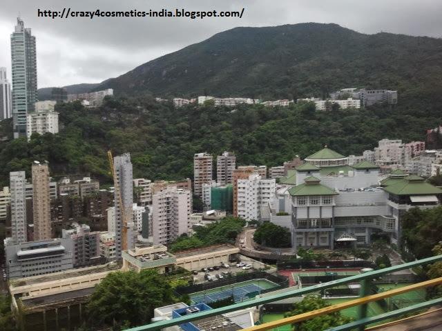 Stanley market hongkong bus path