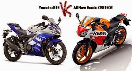 Yamaha R15 vs CBR Lokal