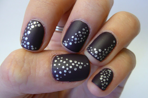 amazing winter nail art design
