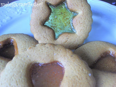 cam şekerli kurabiye