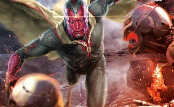 La Visión en Vengadores: La era de Ultrón