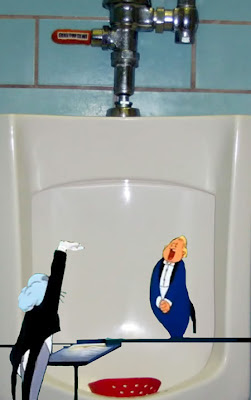 bugs bunny leopold opera urinal