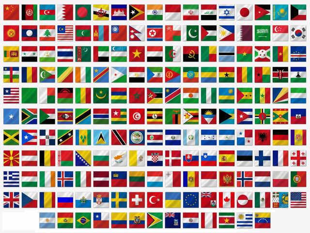 bendera negara dunia