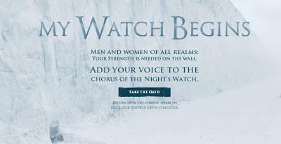 pon tu voz al juramento de la guardia de la noche - Juego de tornos en los siete reinos