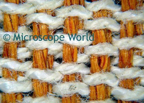 Carpet Fiber Microscope Image