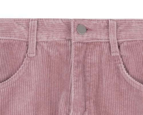 Flared Corduroy Shorts