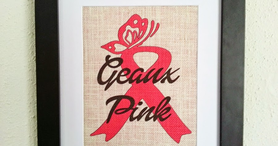 New Orleans Crafts By Design Geaux Pink 11x14 Framed