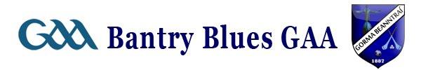 Bantry Blues GAA Juvenile Match Reports