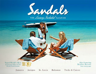 SANDALS BEST BEACHES BROCHURE