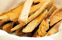 Torradinhas de Pão Árabe (vegana)