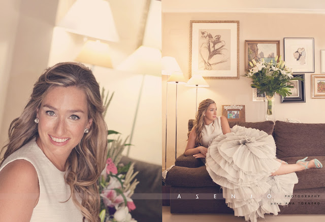 maquillaje y vestido de novia