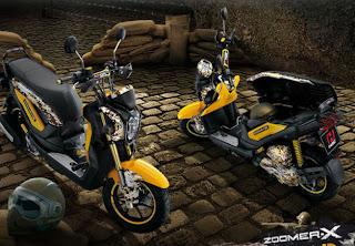 Harga dan Spesifikasi Honda Zoomer-X