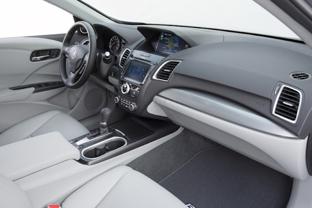 Next 2016 RDX Acura Generation dashboard view