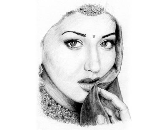 Best Celebrity Pencil Sketch 17
