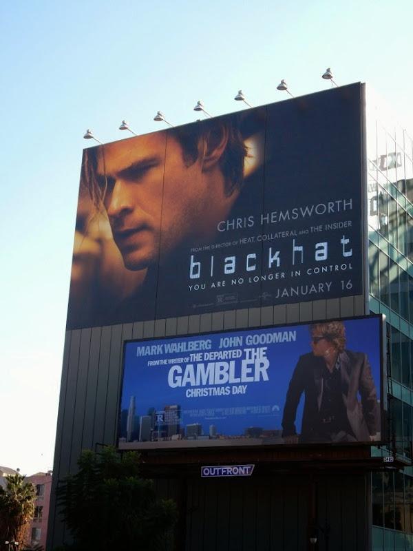 Giant Blackhat film billboard