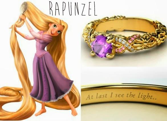 blog Mamãe de Salto aliança inspirada nas princesas da Disney Rapunzel