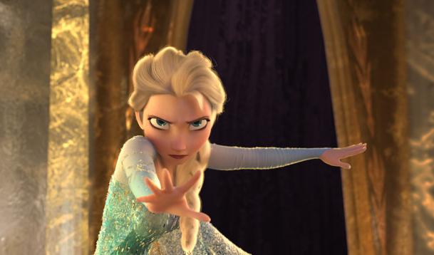 Elsa Frozen animatedfilmreviews.filminspector.com