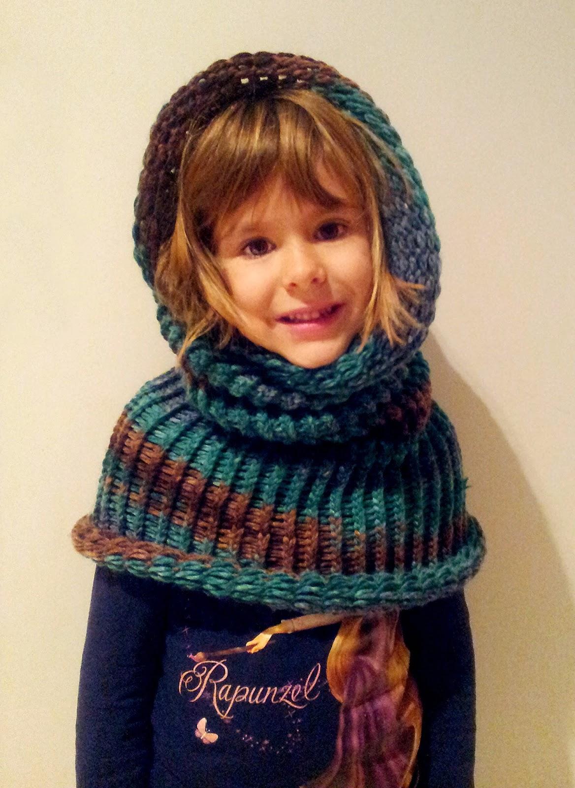 Sintele bufandas cuellos y gorros con telares circulares - Bufandas de lana originales ...
