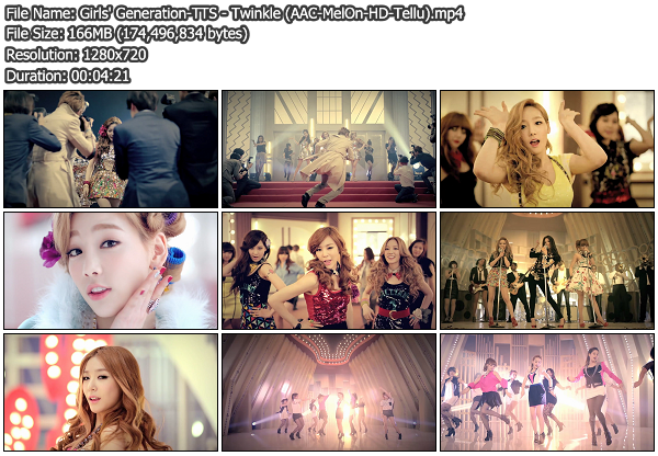 [MV] Girls Generation TTS   Twinkle (MelOn HD 720p) (x264)
