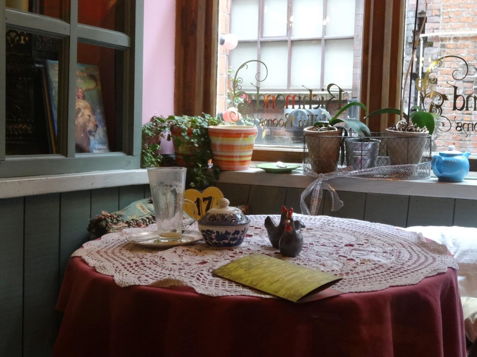 Cream Tea Rooms In Manchester
