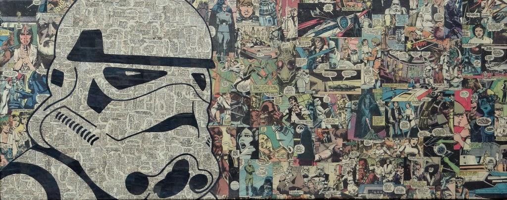 16-Stormtrooper-Mike-Alcantara-Comic-Collage-Art-www-designstack-co