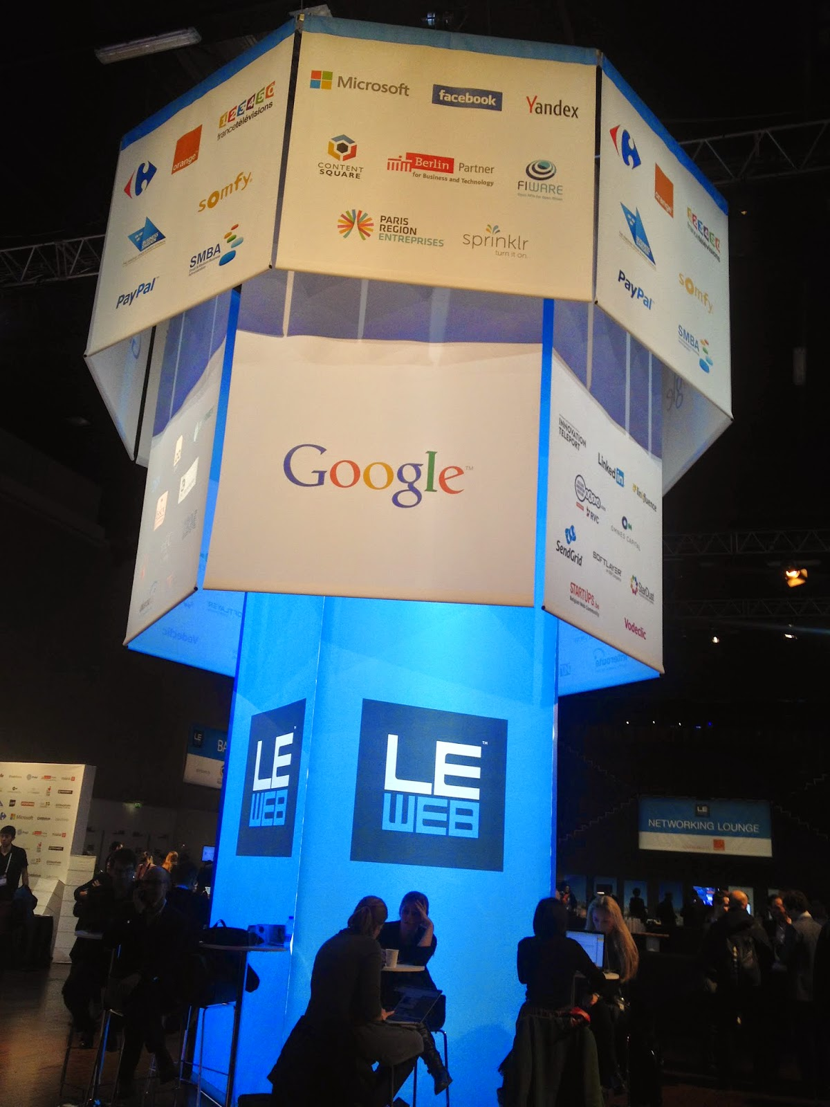 Sponsors of LeWeb'14 Paris