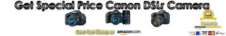 discount Canon slr camera