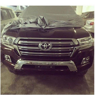 The Appearance of Toyota Land Cruiser Facelift 2015