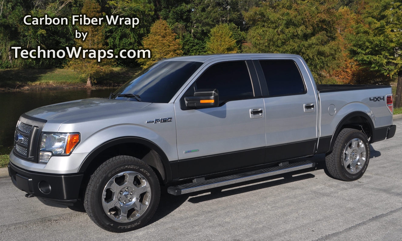 The Vehicle Wrap Page: Black carbon fiber wrap adds edgy ...