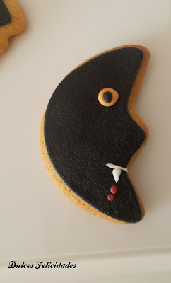 Galletas luna halloween