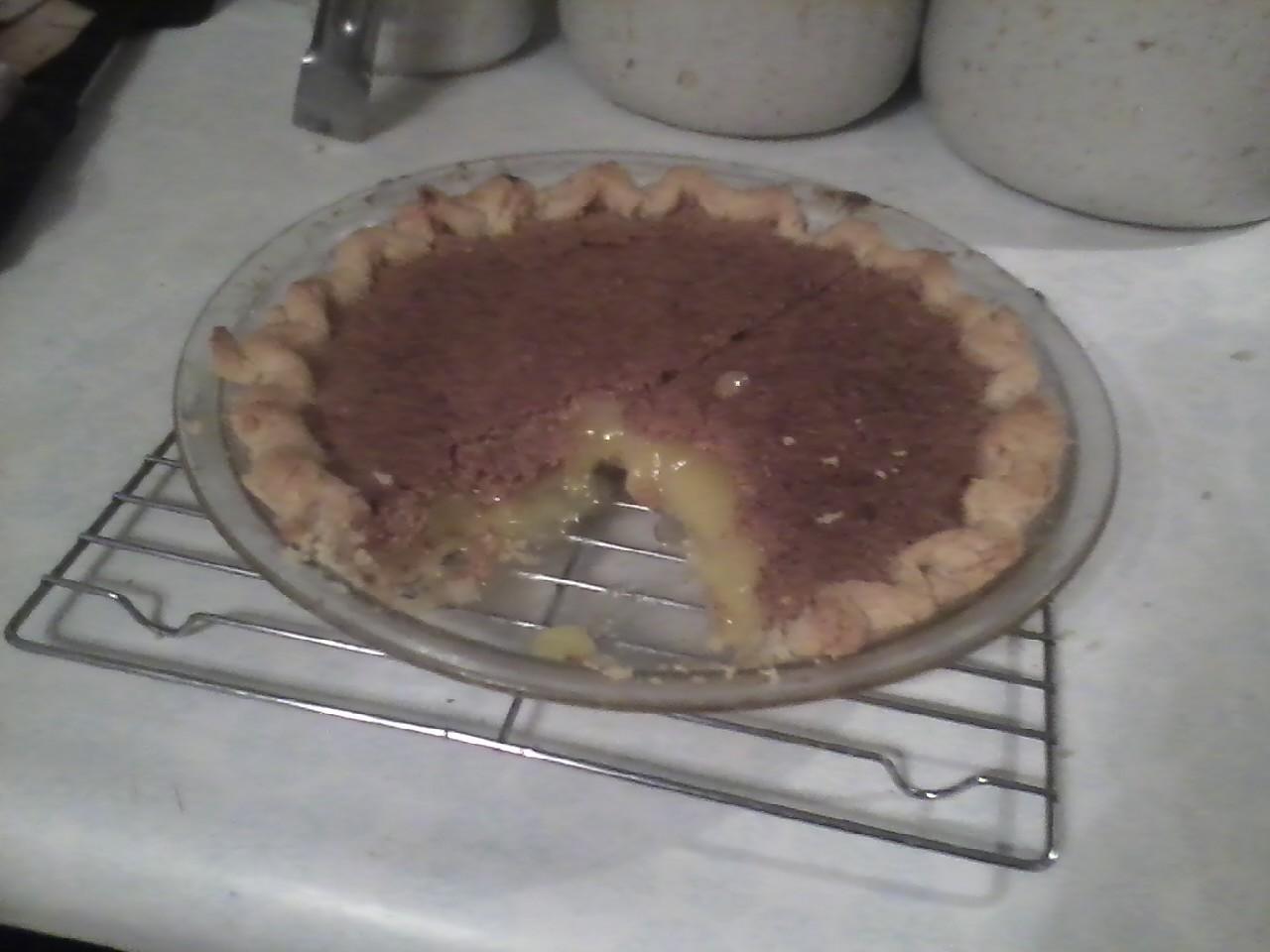 My Baking Adventures: Vinegar Pie