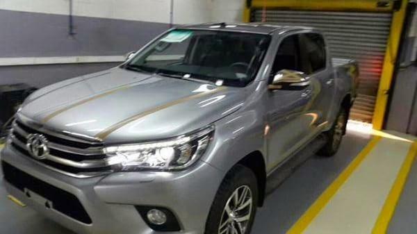 Filtraciones Toyota Hilux 2016