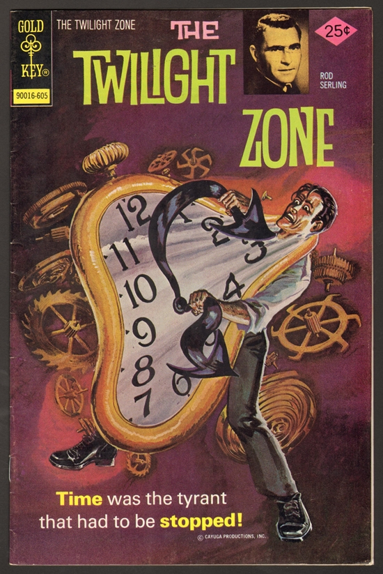 The twilight zone comic