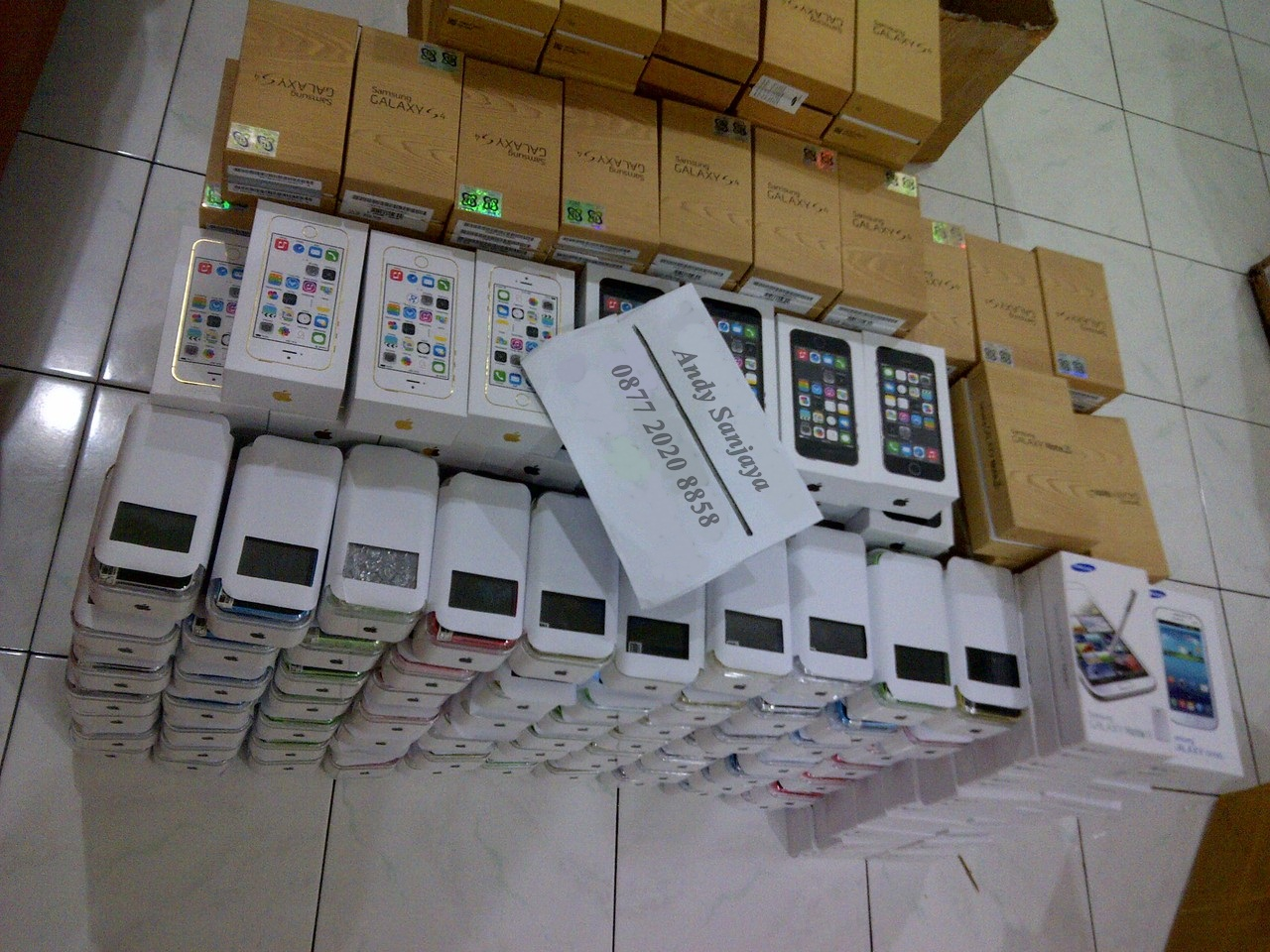 Stok Iphone 5s dan Iphone 5