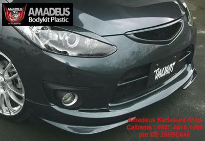 Bodykit Mazda2 Valiant | AMADEUS Bodykit Plastic Solo