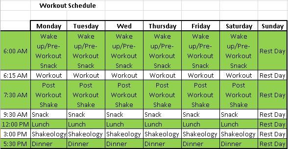Body Beast Workout Sheets You're killing me already body