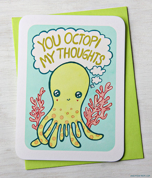 She Loves To Create Quirky And Cute Art Thatu0027s Sure To Brighten Up  Anybodyu0027s Day. With These Adorable Card With Clever ...