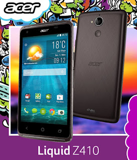 Acer Liquid Z410, 64-bit Quad Core with LTE for Php4,490