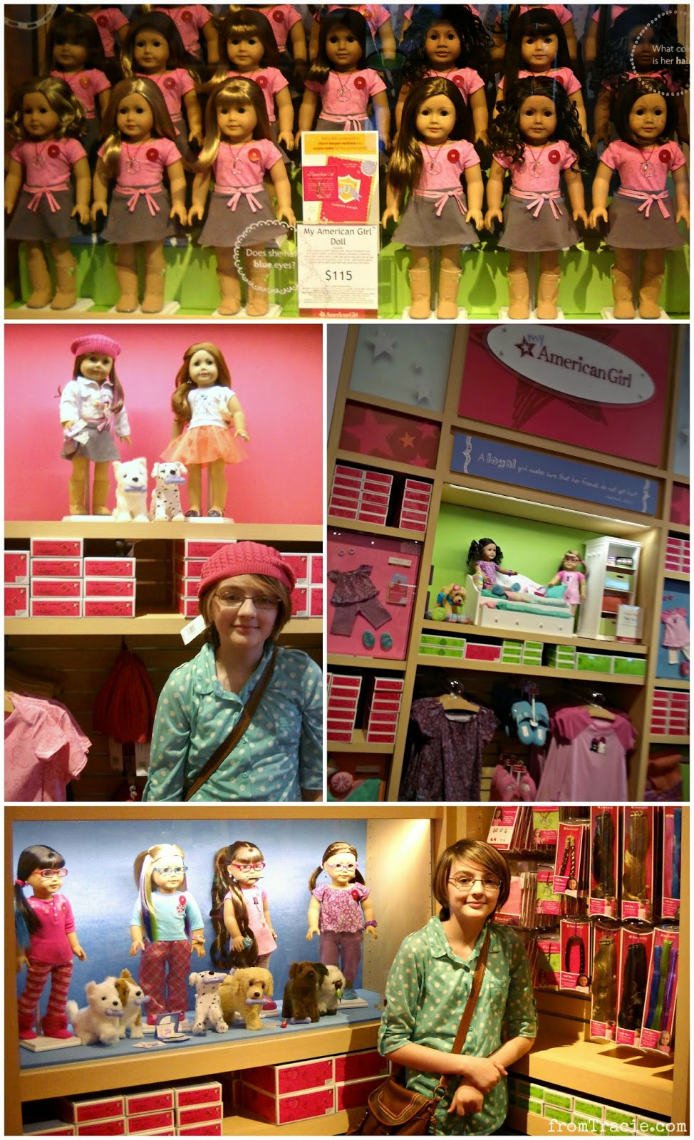 My American Girl look like you dolls, matching doll/girl outfits, and accessories