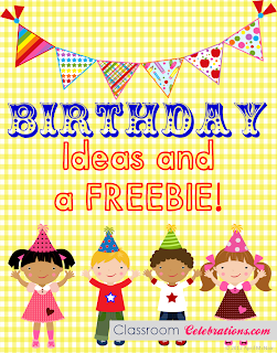 Free Birthday Tent Classroom Celebrations