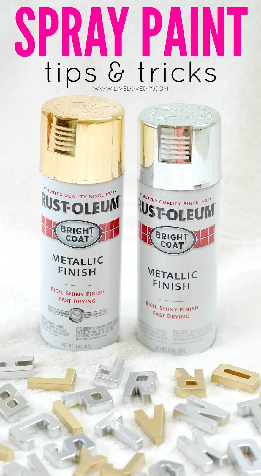 Livelovediy diy gold and silver magnets for How to make silver paint