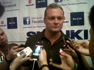 Michael Weiss out as Philippine Azkals head coach