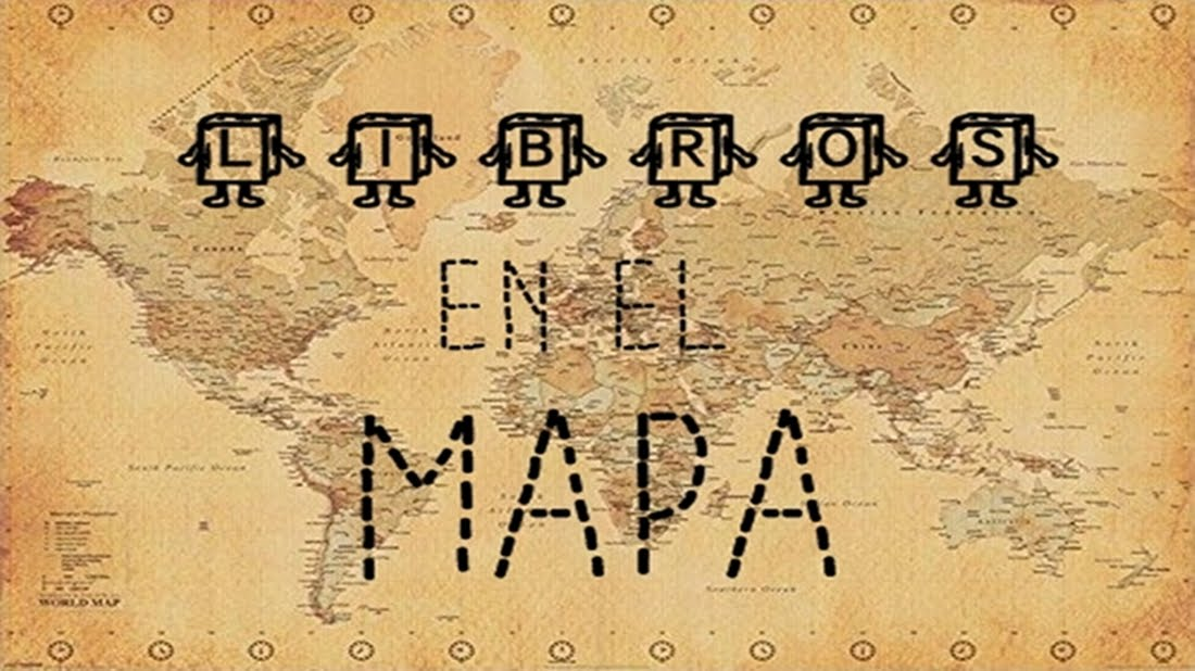 Libros en el mapa