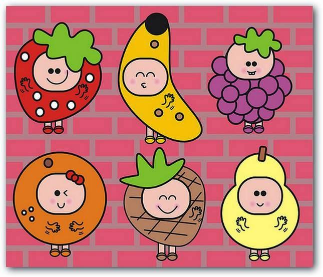 Extremamente IEST - EDUCAÇÃO INFANTIL: Nome das frutas em Inglês KA58
